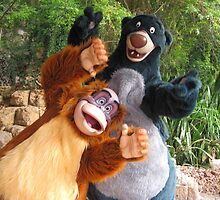 Disney Jungle Book Baloo Disney Villain King Louie by notheothereye