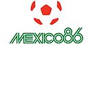 MEXICO 86 by Vintage Tees
