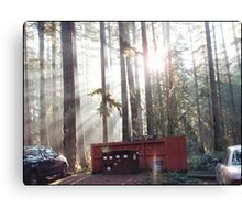 An Oregon Recycling Center Canvas Print