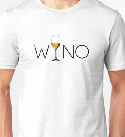 Wino Wine Lover Glass Unisex T-Shirt