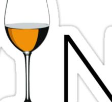 Wino Wine Lover Glass Sticker
