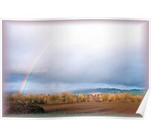 Supernumerary rainbow Poster