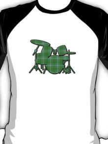 Plaid Drumset T-Shirt