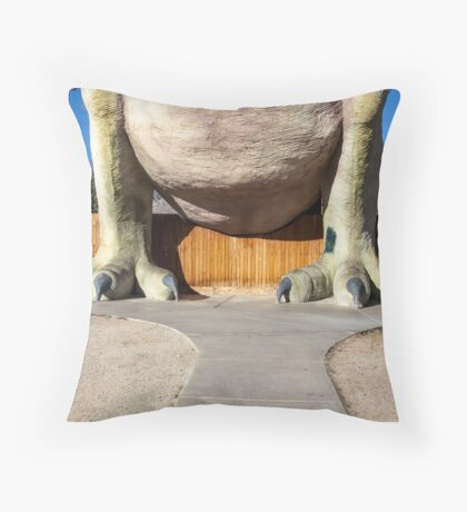 Belly of the Beast Throw Pillow