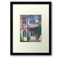 La Maison de Philippe Framed Print