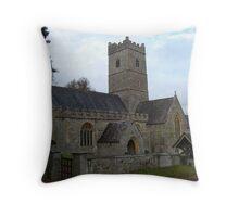 15th Century Church Throw Pillow