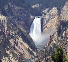 Waterfall by dazeddahlia