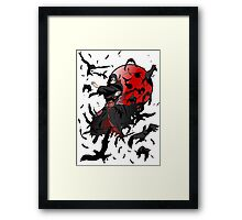 Are just a Crows... Framed Print