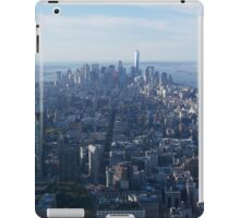 View from Empire State building New York  iPad Case/Skin