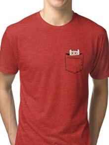 Pocket-Finn Tri-blend T-Shirt