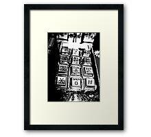 Dial Framed Print