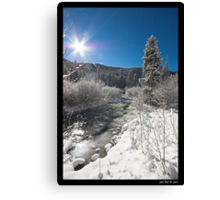 Colorado WInter 2 Canvas Print