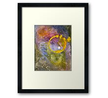 Paint Ring 1 Framed Print