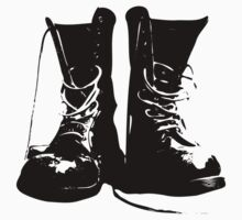 Punk Lolita Boots - Urban street cool by Cartoonistlg
