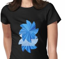 Seeing Double Womens Fitted T-Shirt