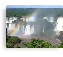 Iguassu Falls, Brazil, South America Canvas Print