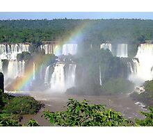 Iguassu Falls, Brazil, South America Photographic Print