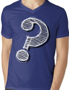 Mystery Mens V-Neck T-Shirt