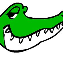 Alligator Face by kwg2200