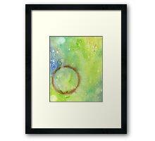 Paint Ring 3 Framed Print