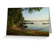Peaceful Morning Greeting Card