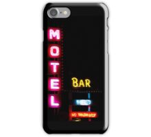 Motel  - Bar -  HBO - No Vacancy iPhone Case/Skin