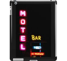 Motel  - Bar -  HBO - No Vacancy iPad Case/Skin