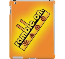 Ramble On iPad Case/Skin