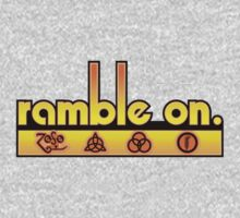 Ramble On by snuggles