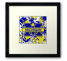 Go Michigan! Framed Print