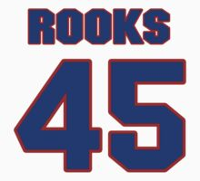 Basketball player Sean Rooks jersey 45 by imsport