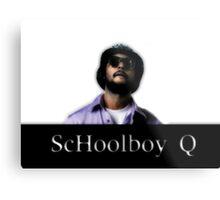 Schoolboy Q Metal Print