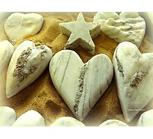 Hearts and Stars Photographic Print