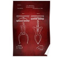 Police Nippers Patent 1885 Poster
