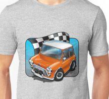 Austin Cooper S in Orange Unisex T-Shirt
