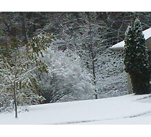 Fresh Fallen Snow Photographic Print