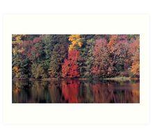 autumn in Lower Michigan #2 Art Print
