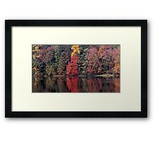 autumn in Lower Michigan #2 Framed Print