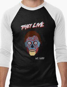 They Live Men's Baseball ¾ T-Shirt