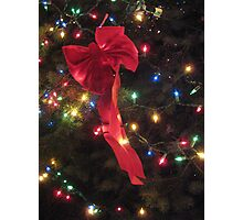 Lights and ribbon Photographic Print