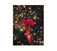 Lights and ribbon 2 Art Print