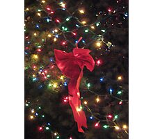 Lights and ribbon 2 Photographic Print