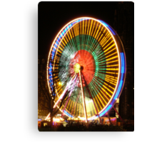 The Big Wheel Canvas Print