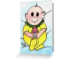 Freckle Baby Greeting Card