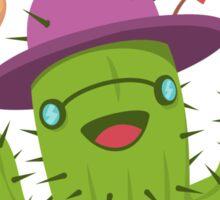 Free Hugs Print / Funny Cactus Illustration Sticker