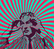 Timothy Leary - Expand Your Mind by Gwendal