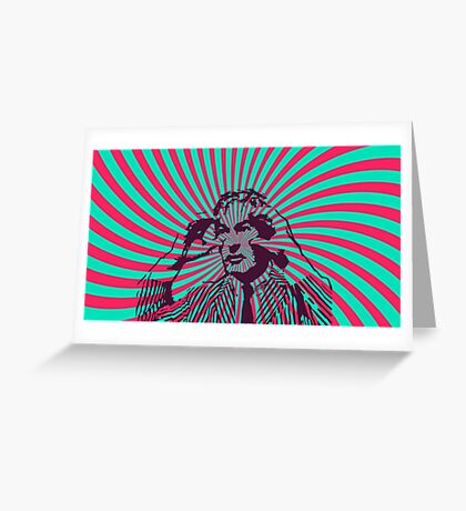 Timothy Leary - Expand Your Mind Greeting Card