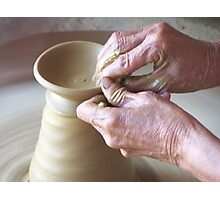 Pottery for Survival Photographic Print