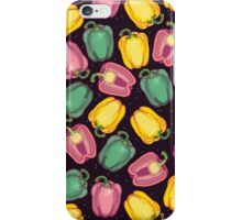 epic bell peppers in space iPhone Case/Skin