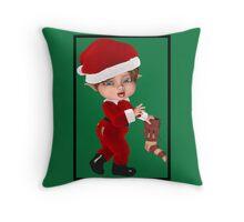 Christmas Elf (2007) Throw Pillow